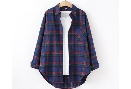 Houthakkersblouse | Trendy dames blouse in 10 kleuren #I