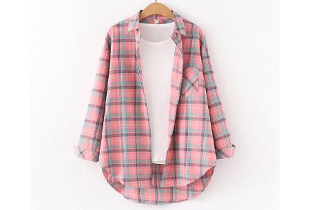 Houthakkersblouse | Trendy dames blouse in 10 kleuren #J