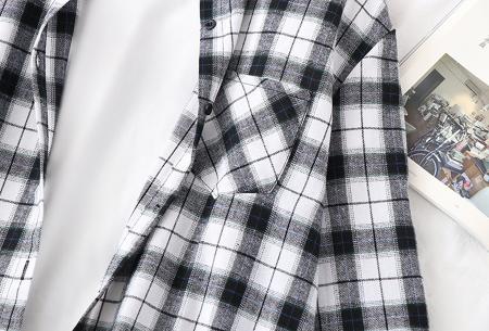Houthakkersblouse | Trendy dames blouse in 10 kleuren