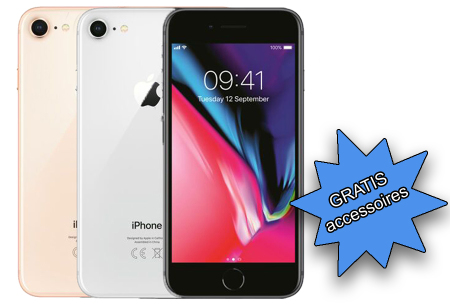 Refurbished Apple iPhone 8 64 GB | In Space grey, Silver of Gold!