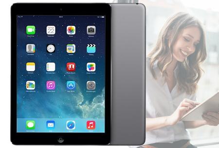 Refurbished Apple iPad Air | Wifi tablet met 32 GB opslag