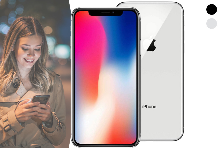 Refurbished iPhone X in de aanbieding