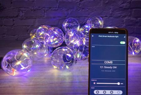 FlinQ led-lichtslinger | Sfeervolle verlichting voor binnen en buiten! - Keuze uit 8 of 18 meter Smart Multicolor