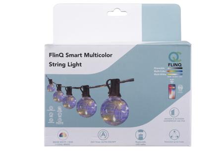 FlinQ led-lichtslinger | Sfeervolle verlichting voor binnen en buiten! - Keuze uit 8 of 18 meter