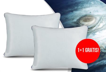 NASA traagschuim hoofdkussens   Voor een perfecte nachtrust - 1+1 GRATIS!