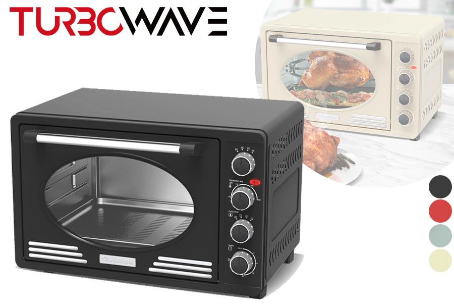 32% korting - Elektrische oven met retro look
