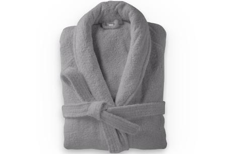 Badjas van badstof | Ochtendjas van 100% katoen voor dames en heren