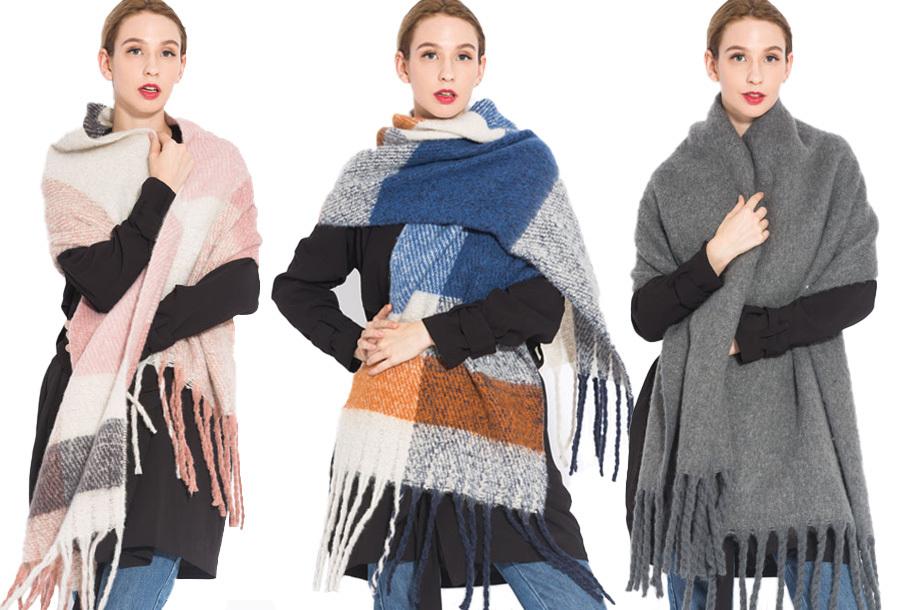 Grote sjaal kopen? Nu heel goedkoop!