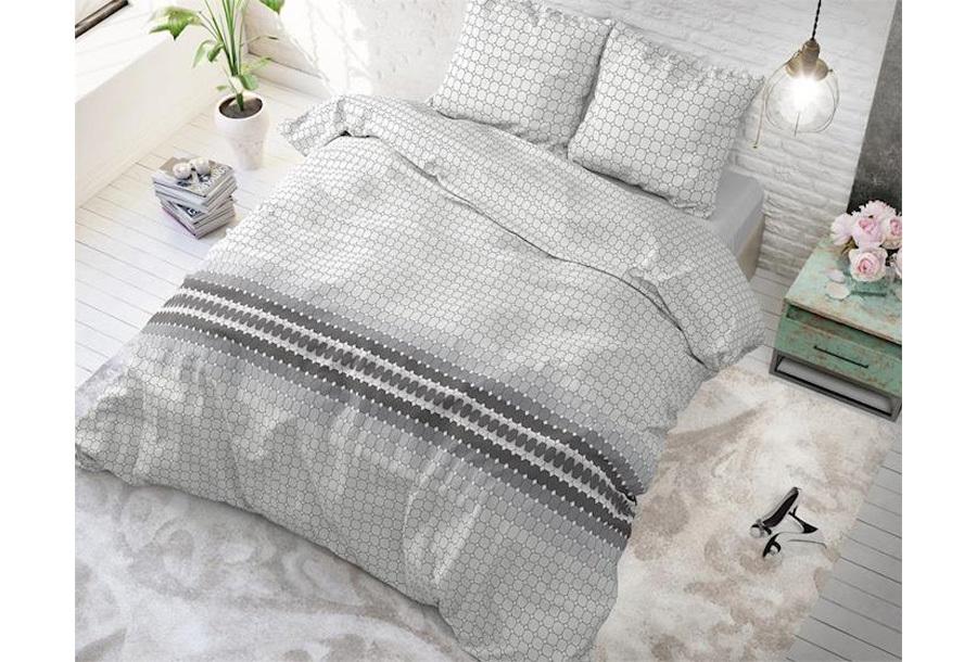 Sleeptime Elegance dekbedovertrek Maat 240 x 220 cm - Romar Grey