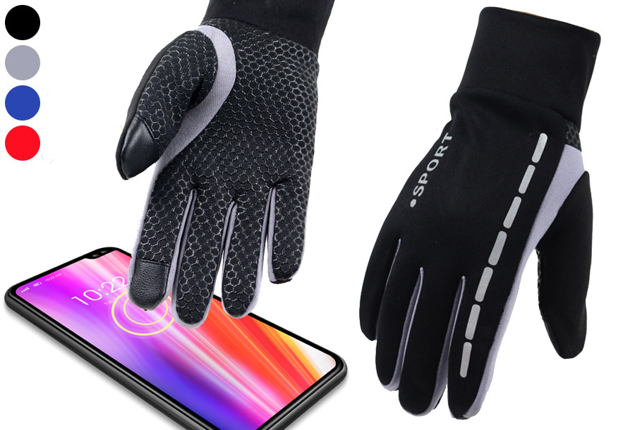 Outdoor sporthandschoenen met touchscreen vingers