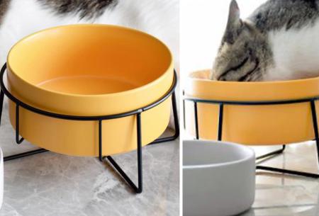 Drink- of voerbak voor huisdieren | Stijlvolle bakjes voor hond en kat