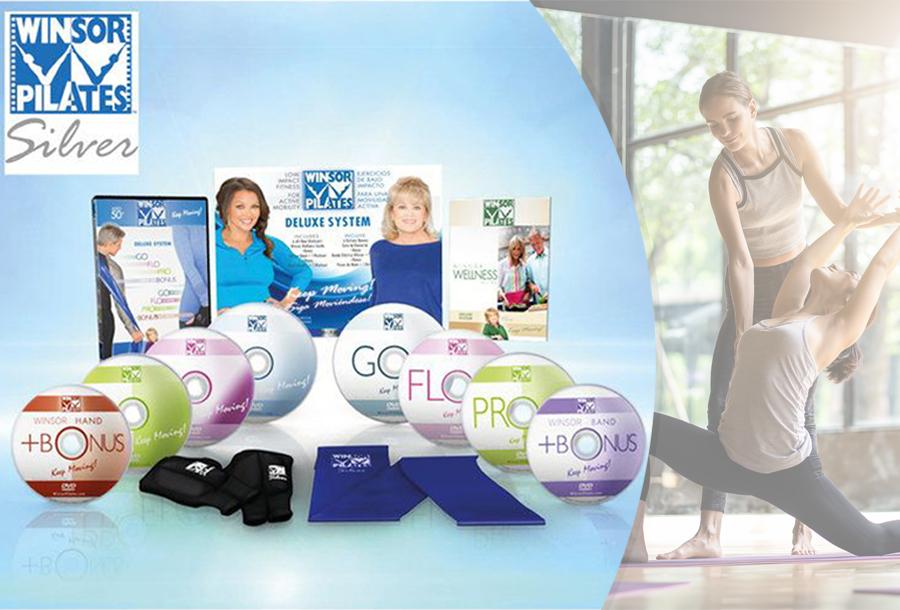 Winsor Pilates Fitness dvd's