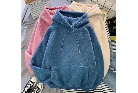 Comfy teddy sweater | Warme hoodie met fleece binnenkant - In 5 kleuren!