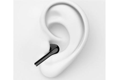 Bluetooth oortjes   Draadloze oordopjes met oplaadcase