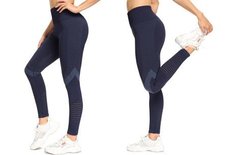 Premium sportlegging dames | Trendy sportbroek van hoge kwaliteit Navy