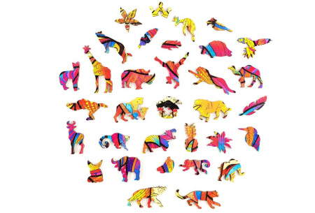 Dieren legpuzzel | Met 3D-stukjes in dierenvorm!