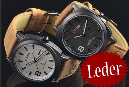 stoer curren heren horloge in zwart of wit t w v 39 95 nu 12 95. Black Bedroom Furniture Sets. Home Design Ideas
