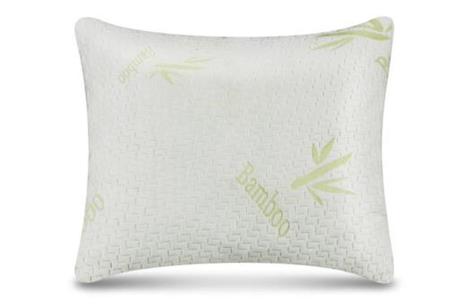 Bamboo hoofdkussens van Dreamhouse | Traagschuim kussens voor zij-, rug- én buikslapers 50 x 60 CM