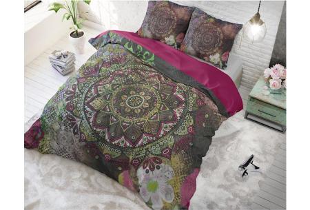 Dreamhouse katoenen dekbedovertrek   Comfortabel beddengoed met print Chelsy multi