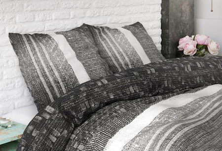 Dreamhouse katoenen dekbedovertrek   Comfortabel beddengoed met print