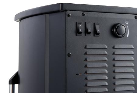 Moa staande sfeerhaard | Elektrische haard met realistische vlammen