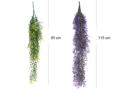 Nep hangplanten   Sfeervolle kunstplanten voor in huis - In verschillende soorten