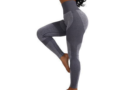 Shaping legging   Sportlegging voor dames in 11 kleuren Grijs