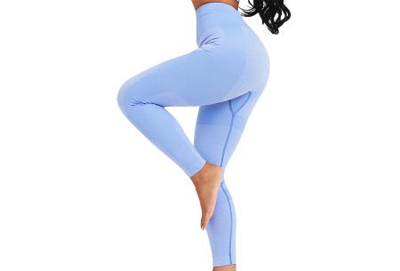 Shaping legging   Sportlegging voor dames in 11 kleuren Lichtblauw