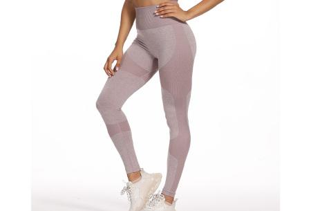 Shaping legging   Sportlegging voor dames in 11 kleuren Oudroze