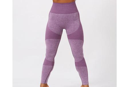 Shaping legging   Sportlegging voor dames in 11 kleuren Paars