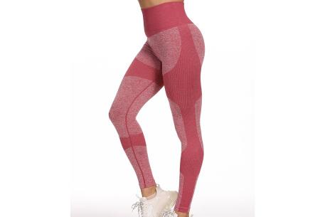 Shaping legging   Sportlegging voor dames in 11 kleuren Wijnrood