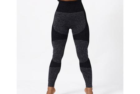 Shaping legging   Sportlegging voor dames in 11 kleuren Zwart