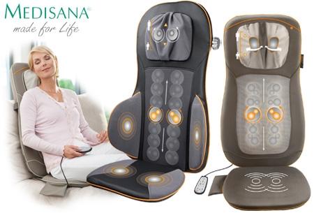 Medisana shiatsu acupressuur massagekussen met for Shiatsu massage kussen