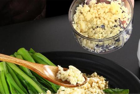 Elektrische hakmolen voor groenten, kruiden, knoflook en meer   Musthave groentesnijder