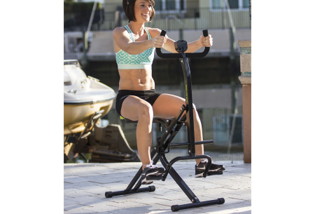 Ab Booster Plus fitnessapparaat | Van buikspieroefeningen tot complete work-out