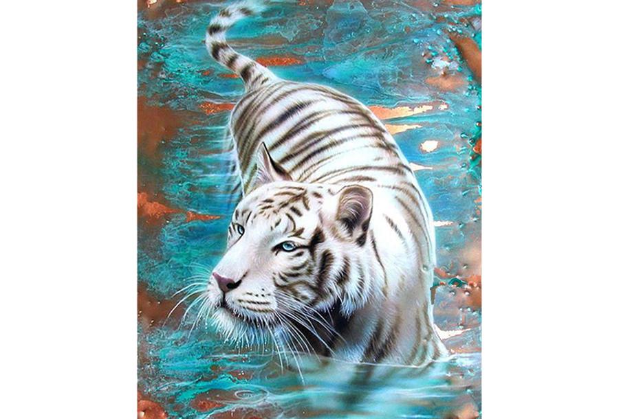 Diamond painting dieren schilderijen #2 - 25 x 30 cm