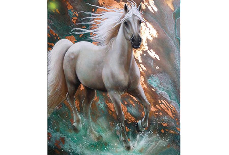 Diamond painting dieren schilderijen #4 - 30 x 40 cm