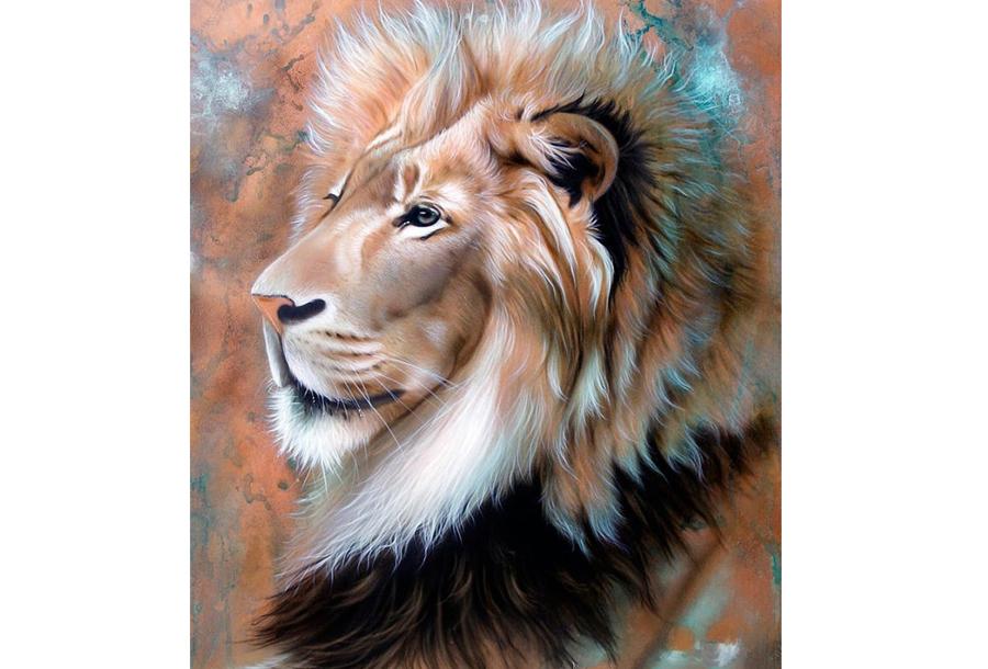 Diamond painting dieren schilderijen #5 - 25 x 30 cm