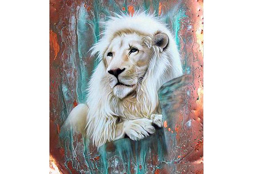 Diamond painting dieren schilderijen #11 - 60 x 80 cm