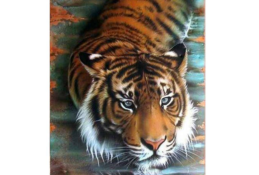 Diamond painting dieren schilderijen #12 - 25 x 30 cm