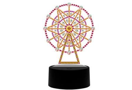 DIY Diamond painting lamp   Maak je eigen 3D-lamp - In 16 stijlen Reuzenrad