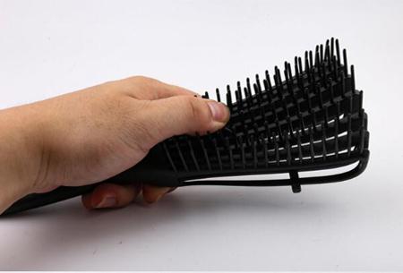 Anti-klit haarborstel   Pijnloos ontklitten zonder haarschade