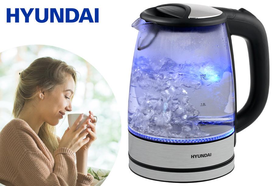 Grote waterkoker met ledverlichting van Hyundai