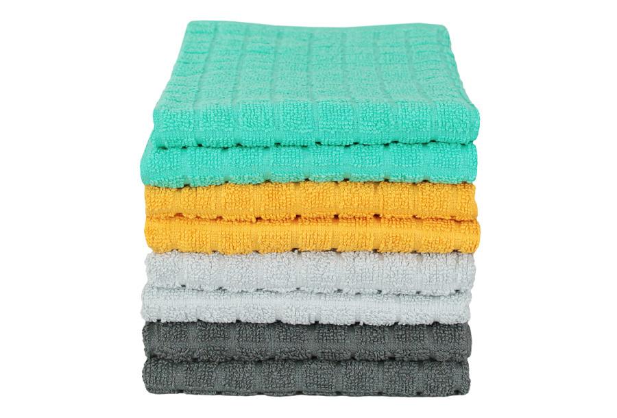 Keukentextiel sets 8-pack handdoeken