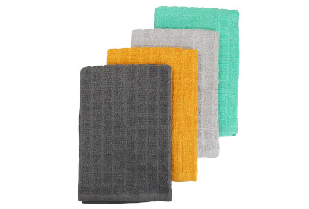 Keukentextiel sets | Multipack theedoeken, keukendoeken of vaatdoeken - 100% katoen