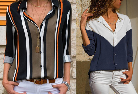 Multicolor blouse | Stijlvolle blouse verkrijgbaar in 11 prints