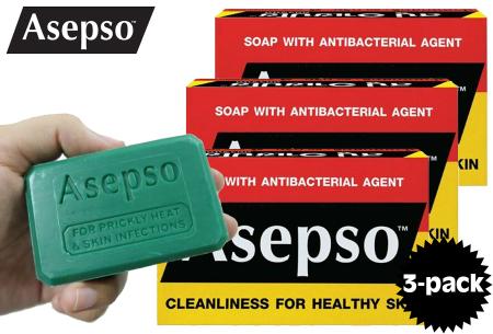 Asepso desinfecterende zeep | Bescherm jezelf en je familie tegen ziekmakende bacteriën en virussen