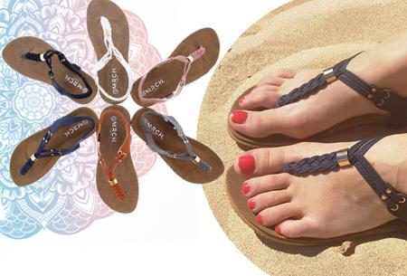 Braided slippers | Eyecatcher voor een complete zomerse look