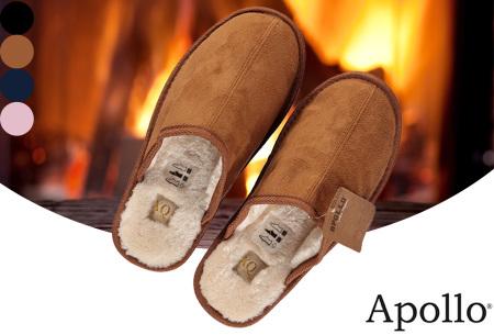 Apollo pantoffels voor dames en heren | Heerlijk zachte sloffen met warme binnenvoering