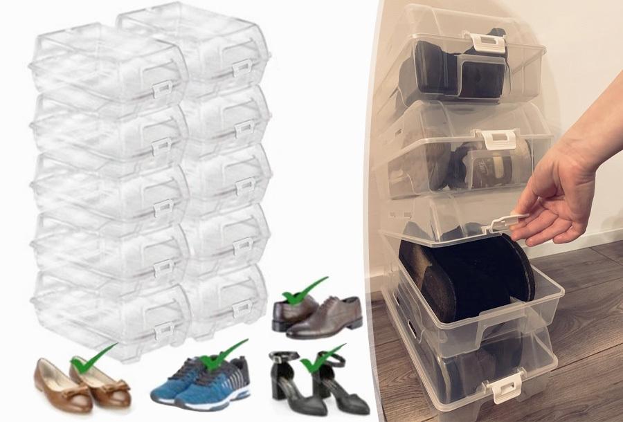Kunststoffen schoenendoos